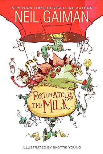 cover art for Fortunately the milk